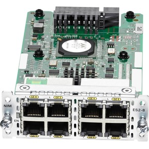 8-PORT LAYER 2 GE SWITCH NETWORK INTERFACE MODULE         IN