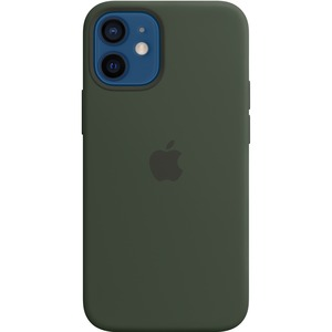 IPHONE 12 MINI SILICONE CASE WITH MAGSAFE - CYPRESS GREEN