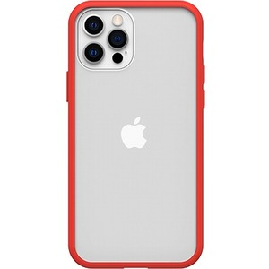 OTTERBOX REACT IPHONE 12 / IPHONE 12PRO POWER RED-CLEAR/RED