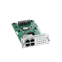 4-PORT LAYER 2 GE SWITCH NETWOR INTERFACE MODULE                 IN