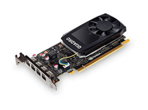 TS NVIDIA QUADRO P1000 GRAPHICS CARD WITH LP BRACKET    IN