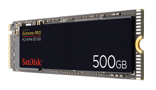 EXTREME PRO M.2 NVME 3D SSD 500GB