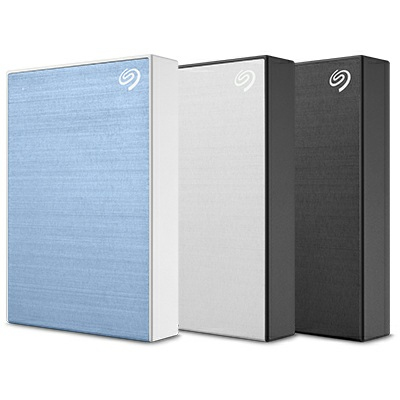 BACKUP PLUS PORTABLE 5TB SILVER 2.5IN USB3.0 EXTERNAL HDD