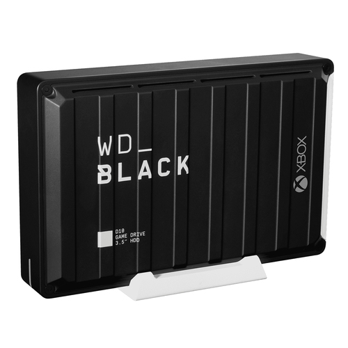 WD BLACK D10 GAME DRIVE FOR XBOX 12TB 3.5IN