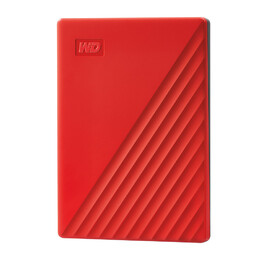 MY PASSPORT 4TB RED 2.5IN USB 3.0                    IN