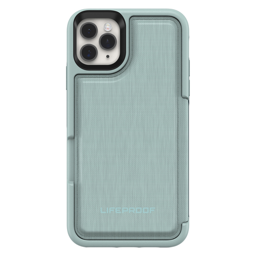 LIFEPROOF FLIP APPLEEHONE ONE 11PROMAX WATER LILY LIGHT GREEN