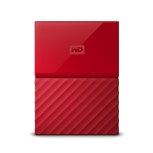 WD MYPASSPORT 2TB RED EXCLUSIVE - 2.5IN USB 3.0        IN