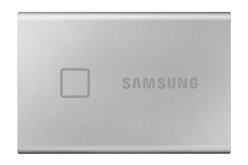 SSD PORTABLE T7 TOUCH 500GB USB 3.2 GEN. 2 SILVER