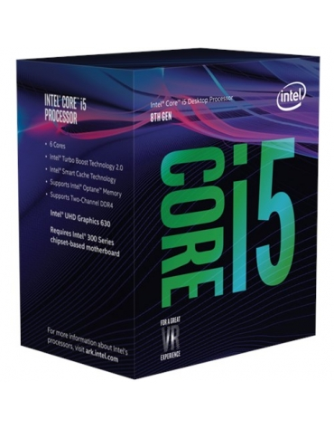 CORE I5-8400 2.80GHZ SKT1151 9MB CACHE BOXED          IN