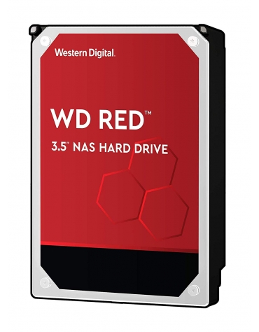 "HDD 2 To 3.5"" SATA - Western Digital - RED - Vitesse de Rotation 5400 Rpm - Cache Mémoire 256 Mo"