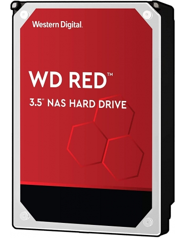 "HDD 4 To 3.5"" SATA - Western Digital - RED - Vitesse de Rotation 5400 Rpm - 64 Mo Mémoire Cache"