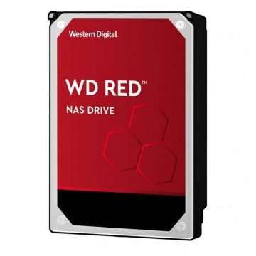 "HDD 1 To 3.5"" SATA - Western Digital - RED - Vitesse de Rotation 5400 Rpm - Cache Mémoire 64 Mo"